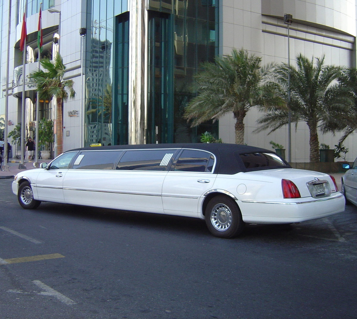 limo ride for Bucharest Bachelor Party Crews
